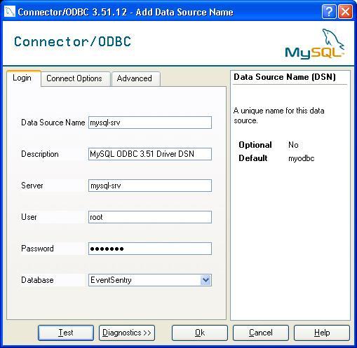 mysql connector odbc 3.51