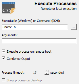 Execute Processes